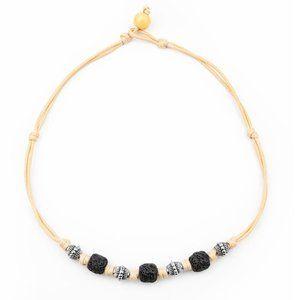 Island Quarry - Black Urban Necklace